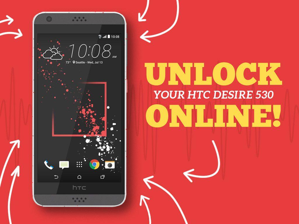 Unlock HTC Desire 530