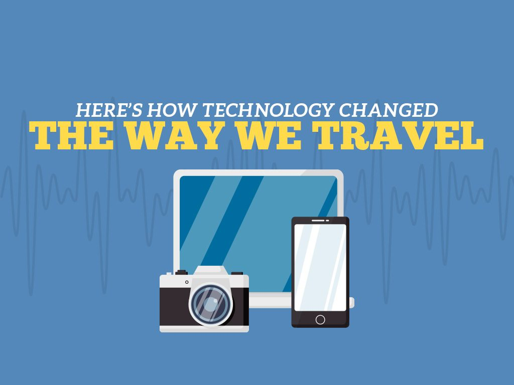 Cover Photo - Here's How Technology Has Changed the Way We Travel
