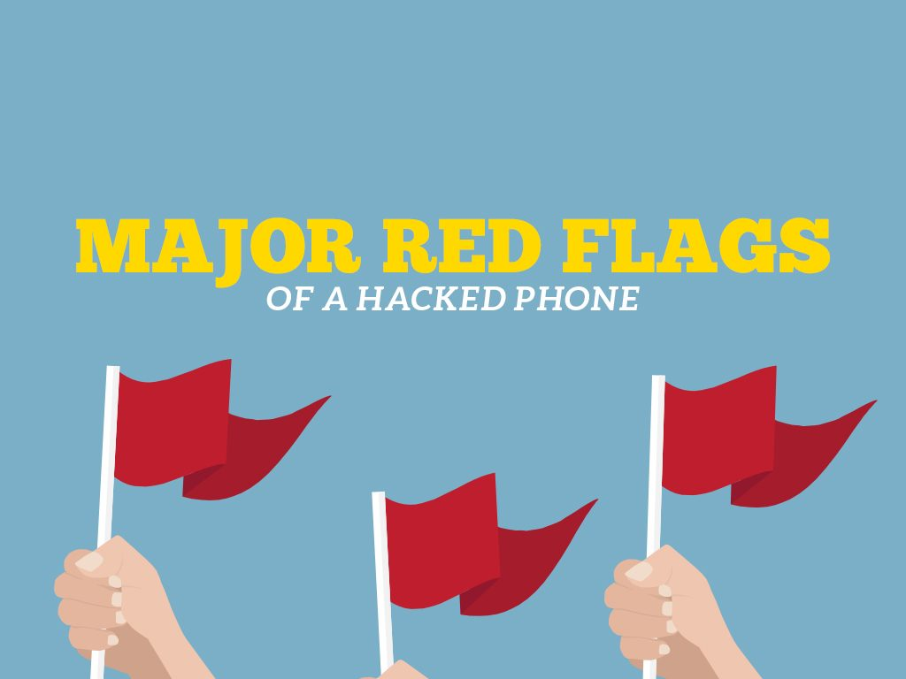 Major Red Flags of a Hacked Phone : COVER