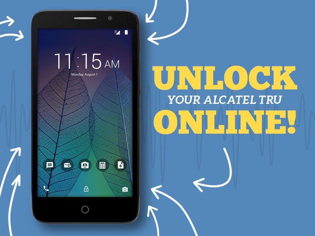 Great Phones We Unlock: Alcatel TRU (OT-5065N) from MetroPCS: Cover Photo