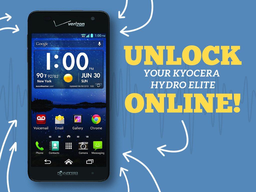 Great Phones We Unlock: Kyocera Hydro ELITE (C6740 & C6740N) from MetroPCS: Cover Photo