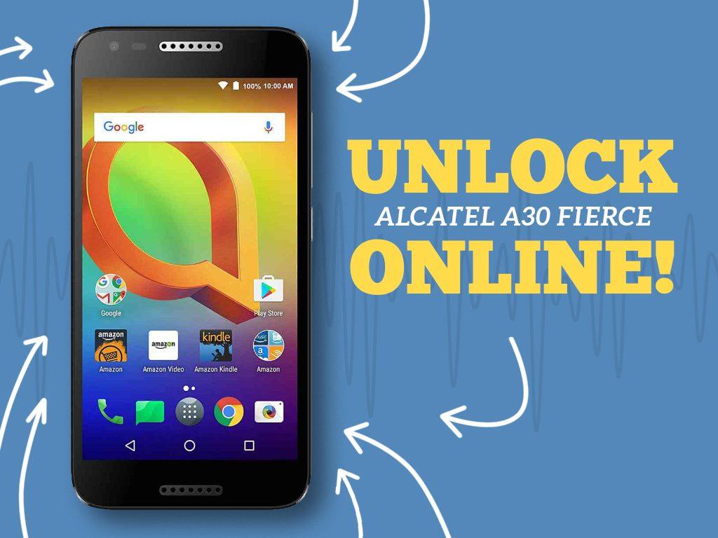 Great Phones We Unlock: Alcatel A30 FIERCE from MetroPCS : Cover Photo