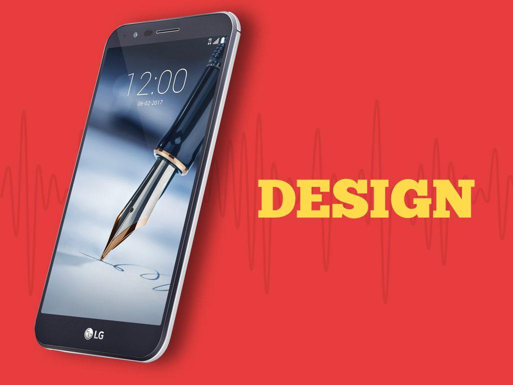 LG Stylo 3 Plus Design
