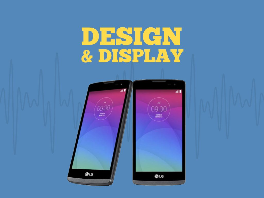 Great Phones We Unlock LG Leon 4G LTE (MS345) from MetroPCS : Design and Display