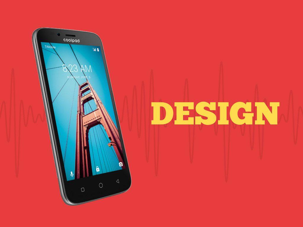 Coolpad Defiant Design
