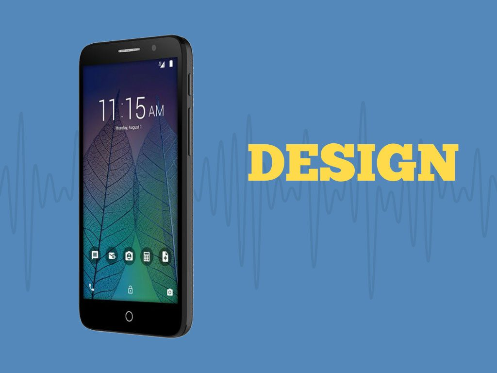 Great Phones We Unlock: Alcatel TRU (OT-5065N) from MetroPCS: Design