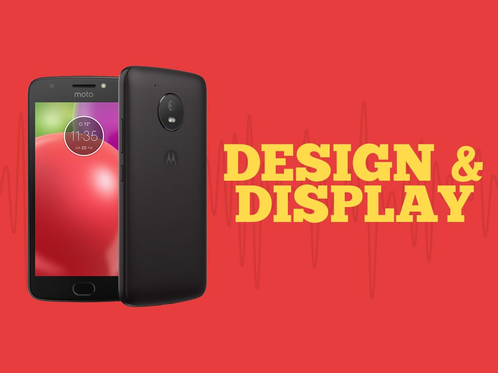 Unlock Moto E (4th Gen.) Design and Display