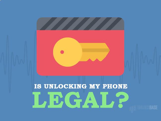 Is Unlocking My Phone Legal?