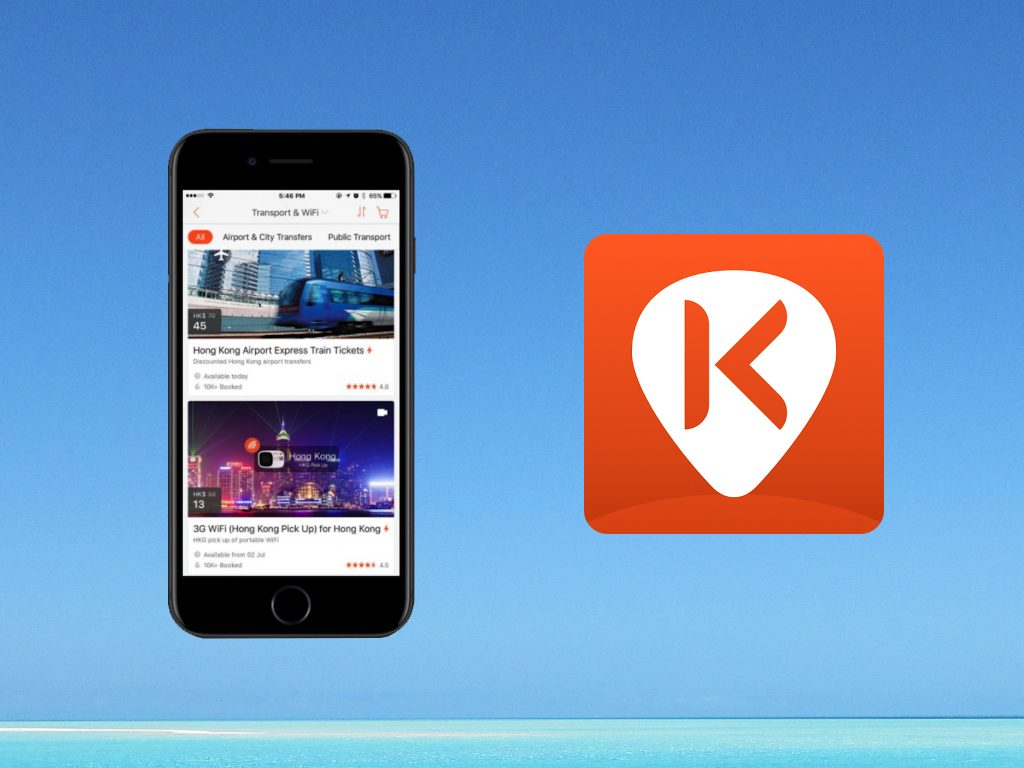 5 Ideal Apps for Your Next Travel Abroad : Klook