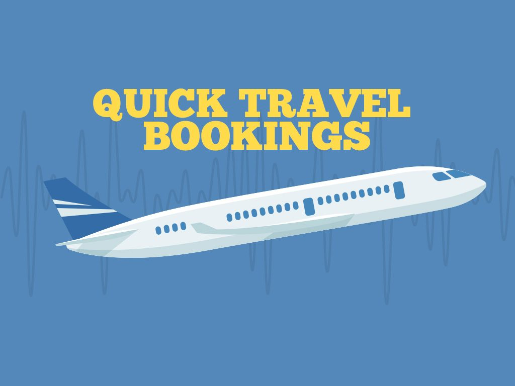 Here's How Technology Has Changed the Way We Travel: Quick Travel Bookings