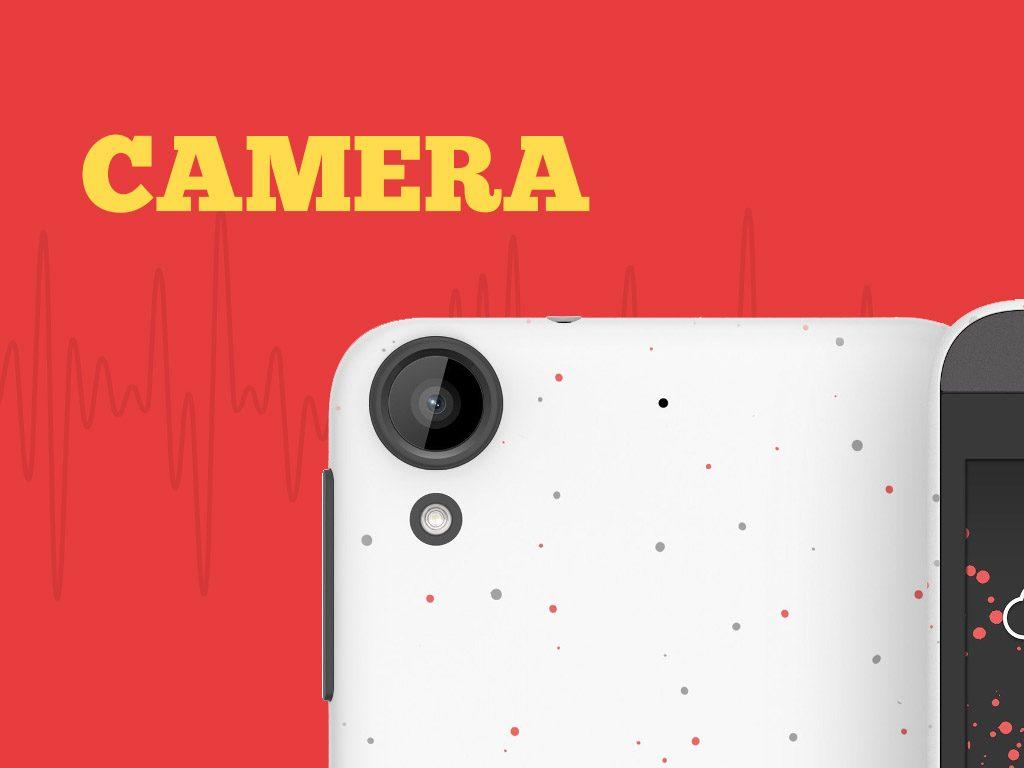 HTC Desire 530 Camera