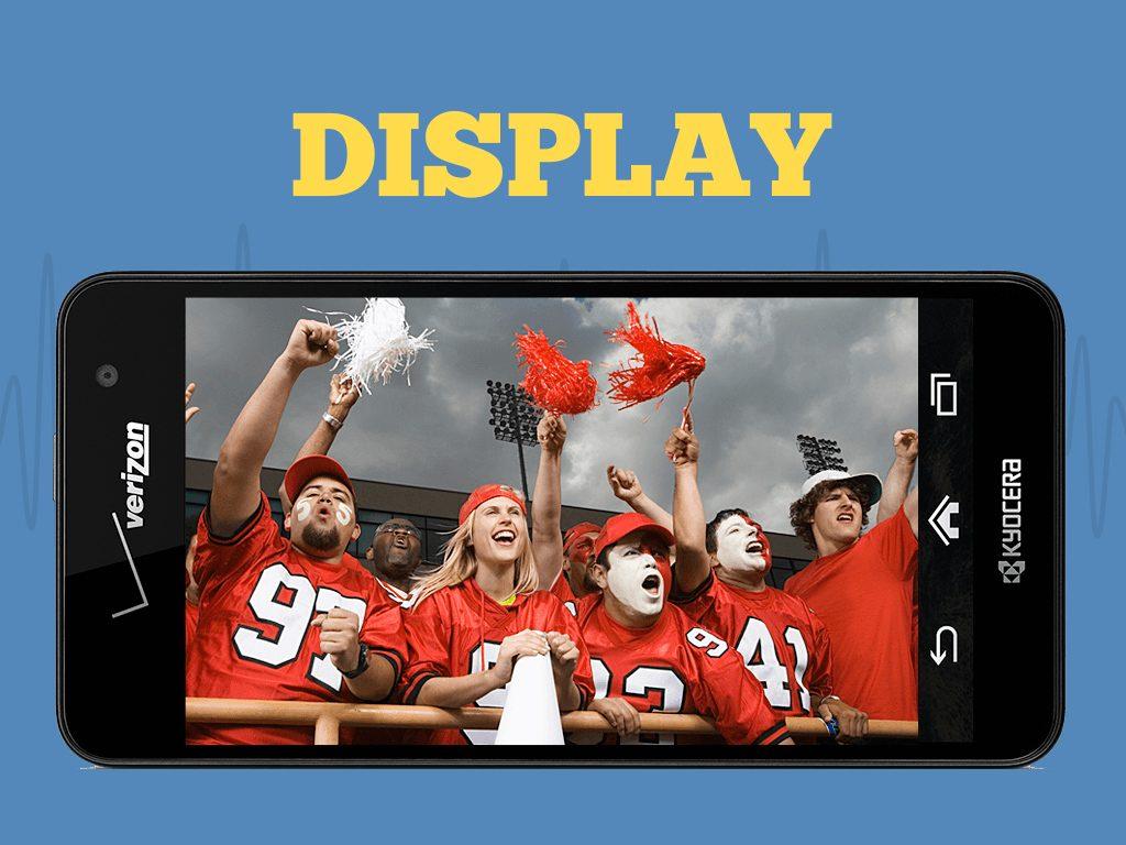 Great Phones We Unlock: Kyocera Hydro ELITE (C6740 & C6740N) from MetroPCS: Display