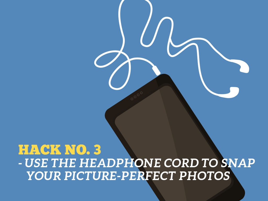 The Ultimate Phone Hacks for Millennials : Earphone Cord