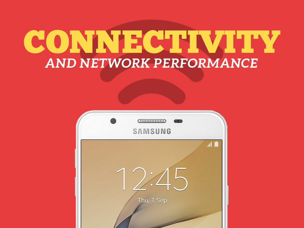 Samsung Galaxy J7 Prime Connectivity and Network Performance