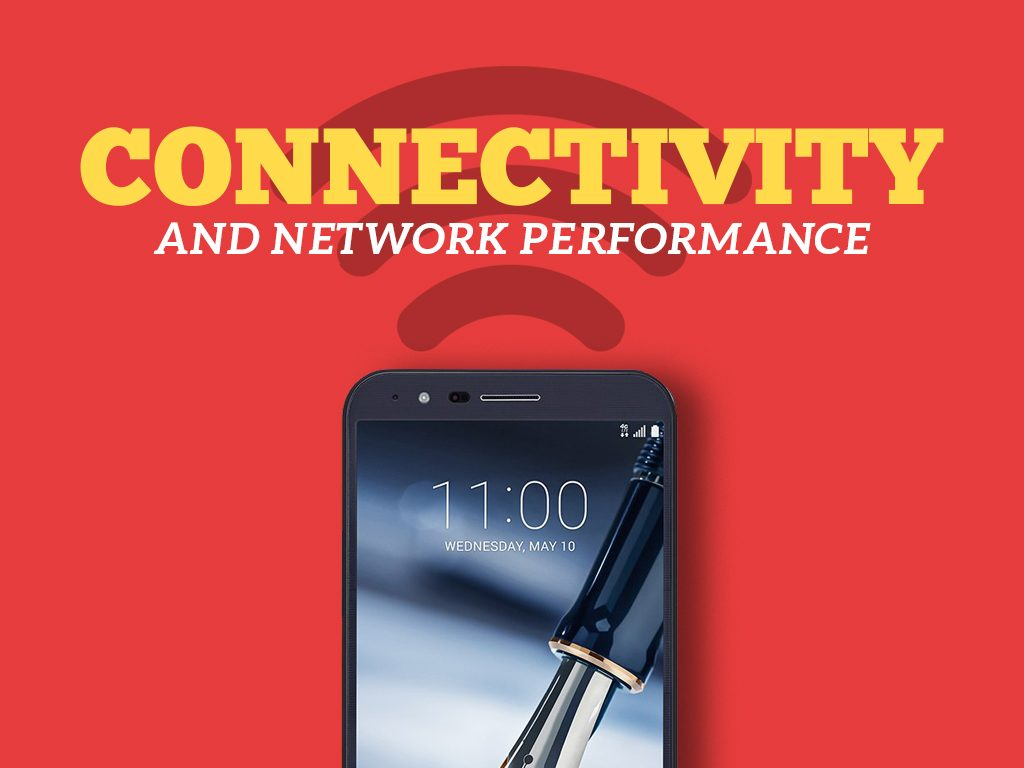 LG Stylo 3 Plus Connectivity and Network Performance
