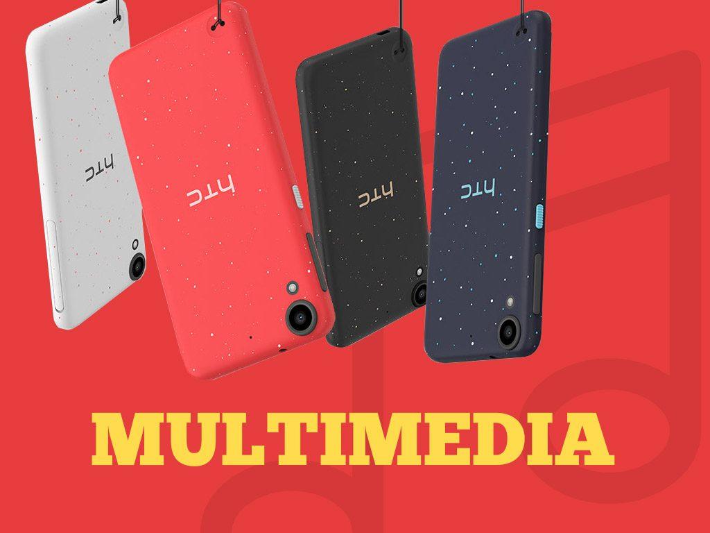 HTC Desire 530 Multimedia