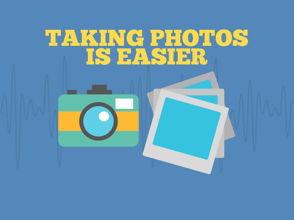 Here's How Technology Has Changed the Way We Travel: Taking Photos Is Easier