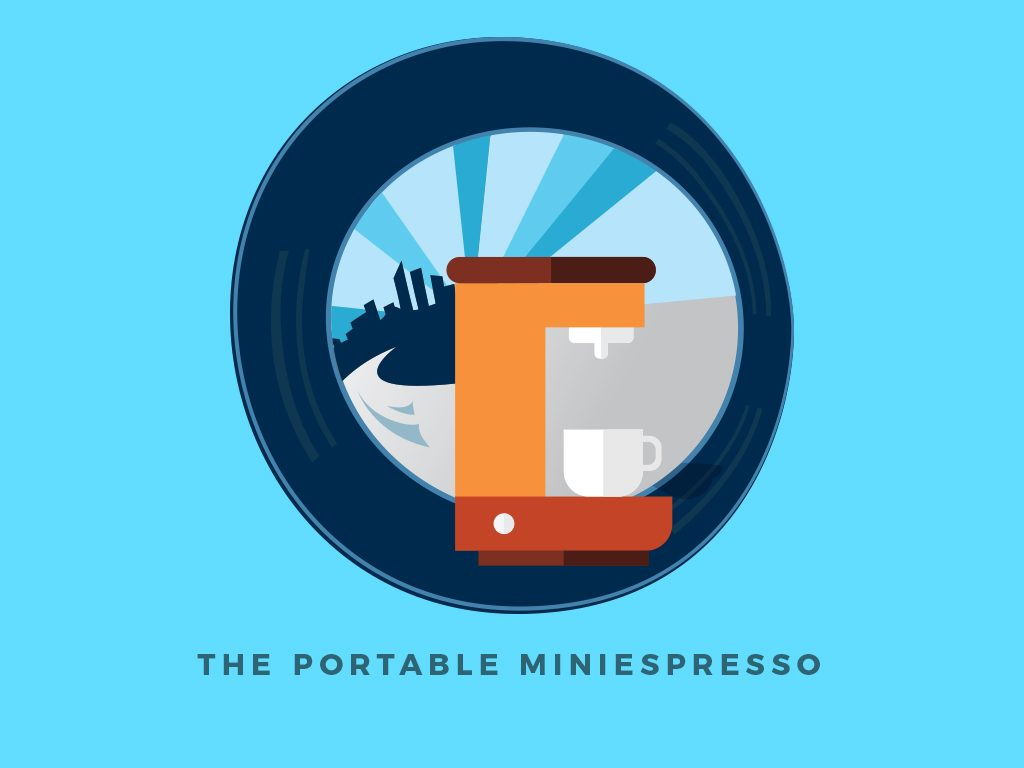 Top 5 Gadgets You'll Need for a Weekend Road Trip : Portable Miniespresso