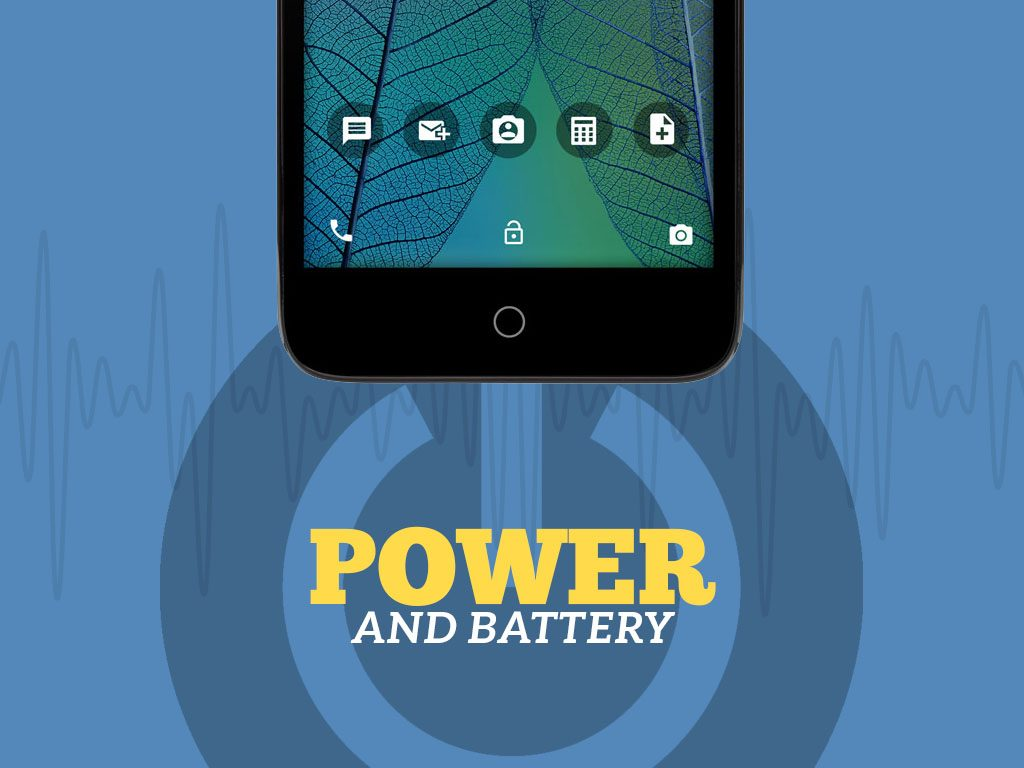 Great Phones We Unlock: Alcatel TRU (OT-5065N) from MetroPCS: Power and Battery