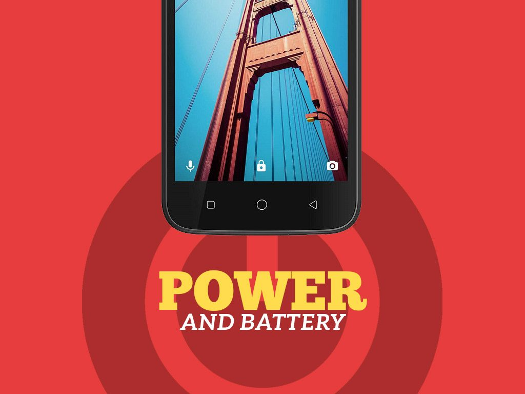 Coolpad Defiant Power and Battery