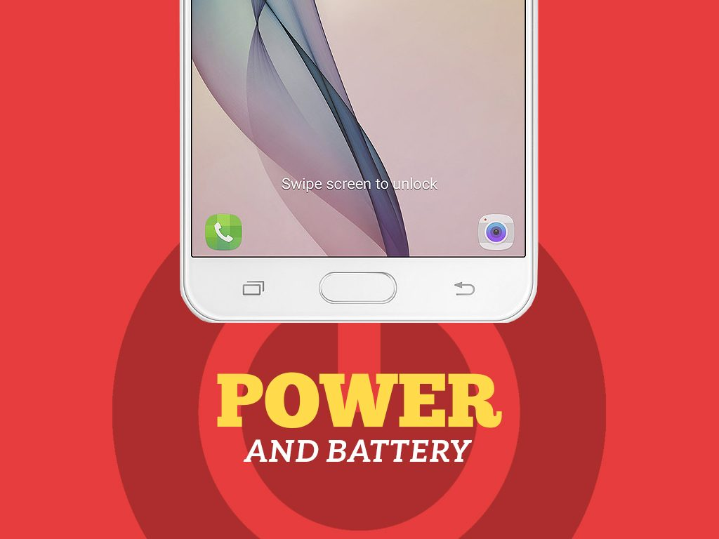 Samsung Galaxy J7 Prime Power and Battery
