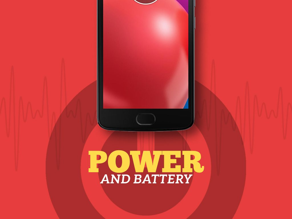 Unlock Moto E (4th Gen.) Power and Battery