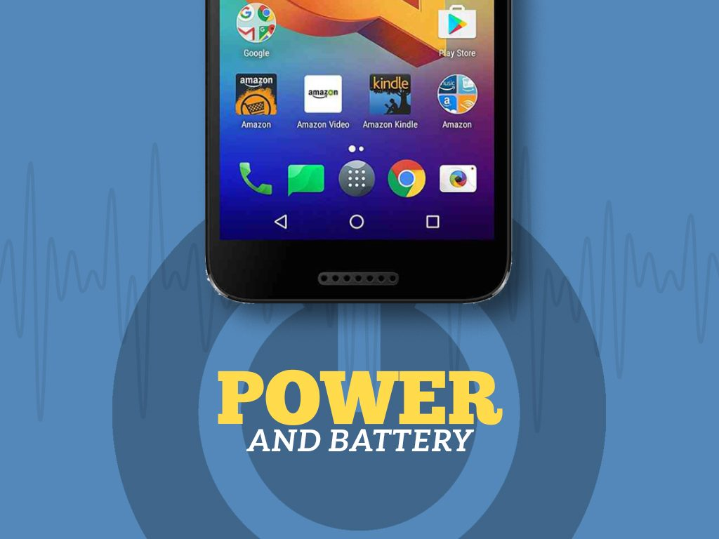 Great Phones We Unlock: Alcatel A30 FIERCE from MetroPCS : Power and Battery