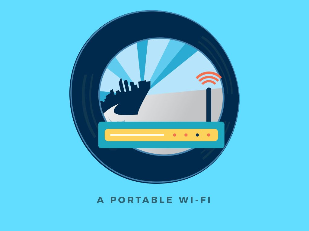 Top 5 Gadgets You'll Need for a Weekend Road Trip : Portable Wi-Fi