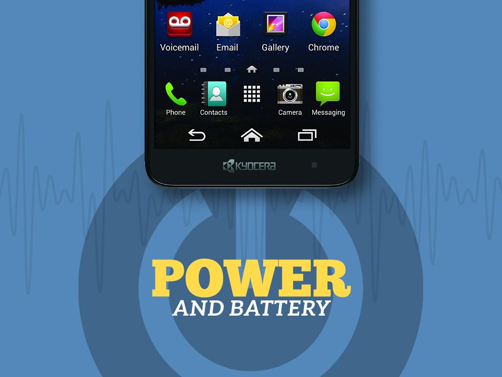 Great Phones We Unlock: Kyocera Hydro ELITE (C6740 & C6740N) from MetroPCS: Power and Battery