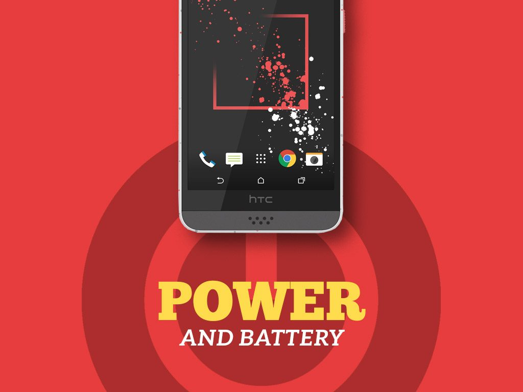 HTC Desire 530 Power and Battery