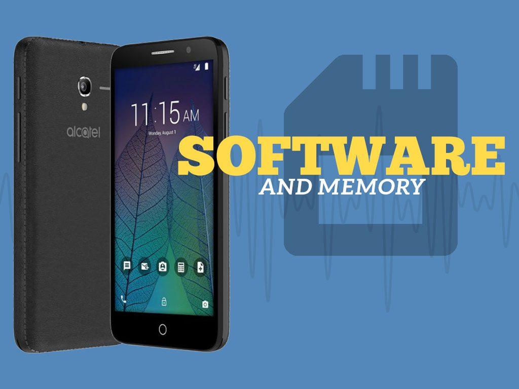 Great Phones We Unlock: Alcatel TRU (OT-5065N) from MetroPCS: Software and Memory