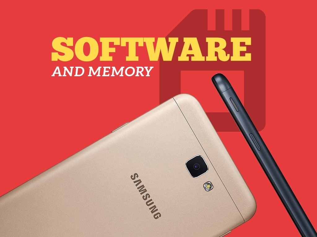 Samsung Galaxy J7 Prime Software and Memory