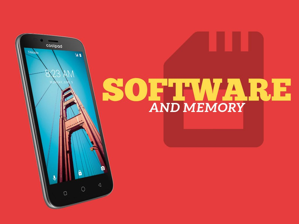 Coolpad Defiant Software and Memory