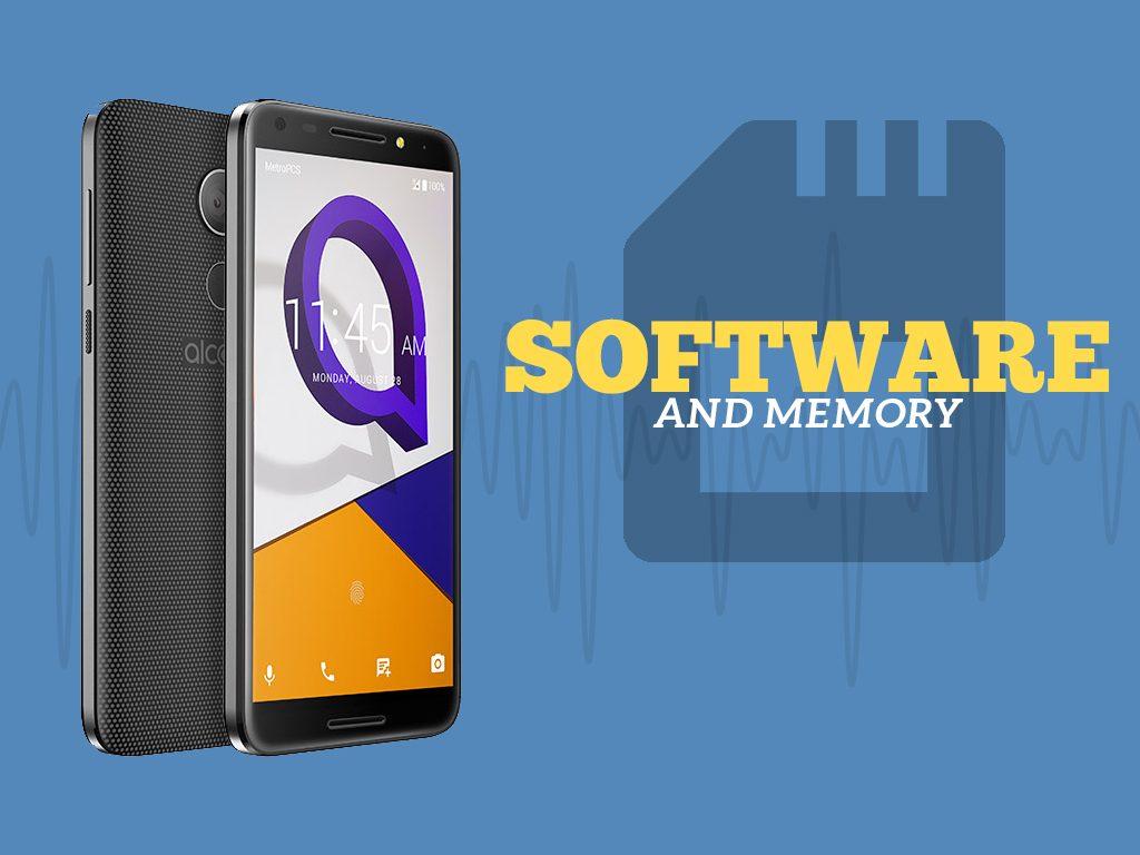 Great Phones We Unlock: Alcatel A30 FIERCE from MetroPCS : Software and Memory