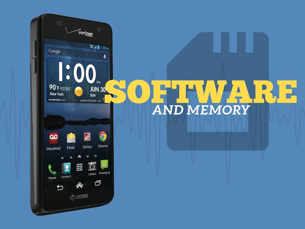 Great Phones We Unlock: Kyocera Hydro ELITE (C6740 & C6740N) from MetroPCS: Software and Memory