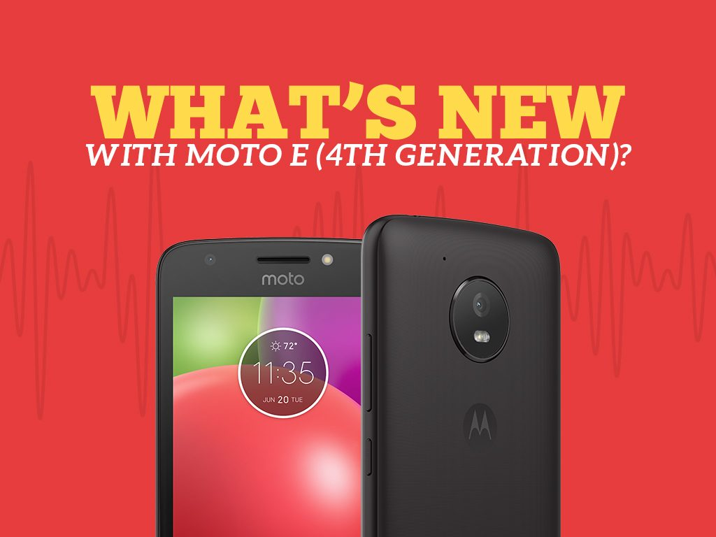Unlock Moto E (4th Gen.) Specs and Features