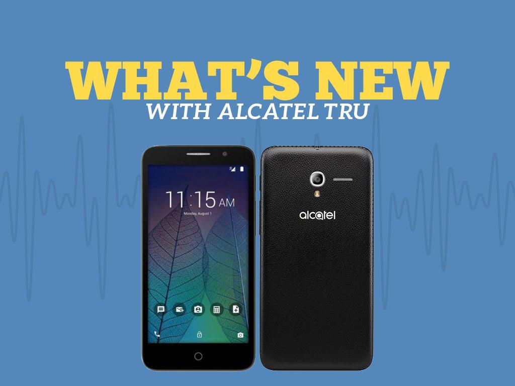 Great Phones We Unlock: Alcatel TRU (OT-5065N) from MetroPCS: What's New With Alcatel TRU