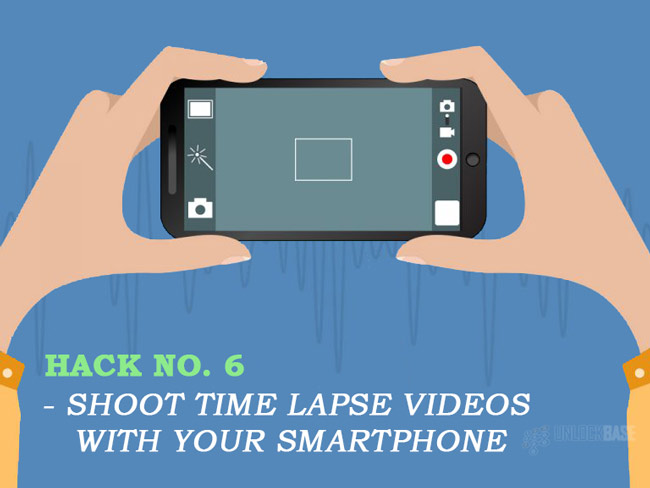 Shoot time lapse videos with your smartphone