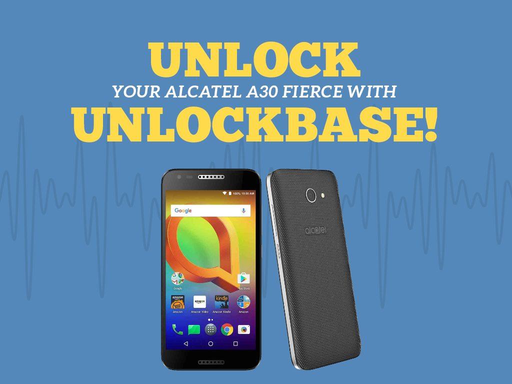 Great Phones We Unlock: Alcatel A30 FIERCE from MetroPCS : Unlock Alcatel A30 Fierce With Unlockbase
