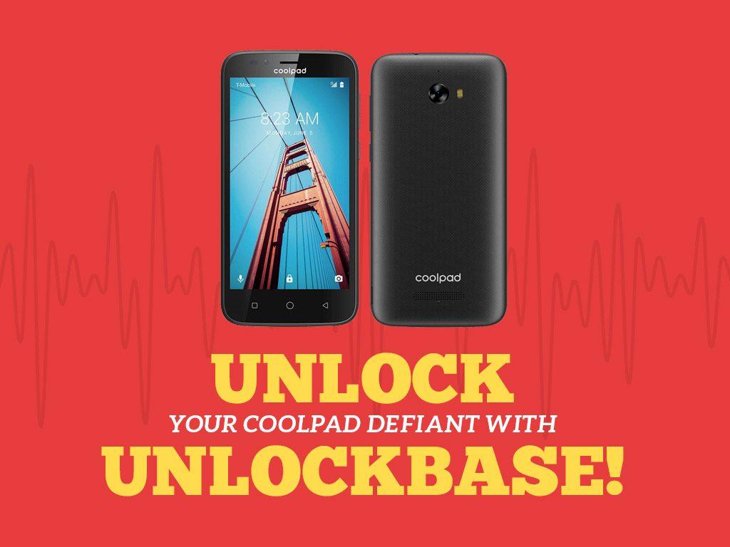 Unlock Coolpad Defiant with UnlockBase