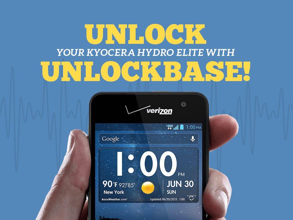 Great Phones We Unlock: Kyocera Hydro ELITE (C6740 & C6740N) from MetroPCS: Unlock Your Kyocera Hydro Elite With UnlockBase