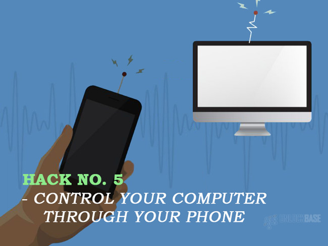 Control your computer through your phone