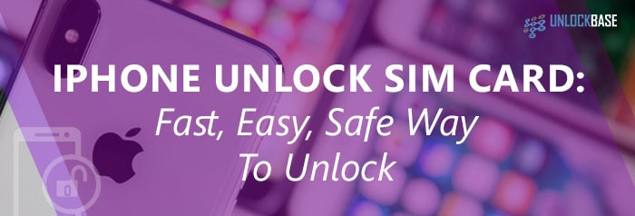 iPhone Unlock Sim Card UnlockBase