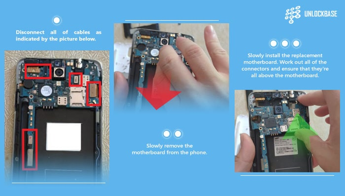 replace Samsung Galaxy Note 3 Motherboard Guide