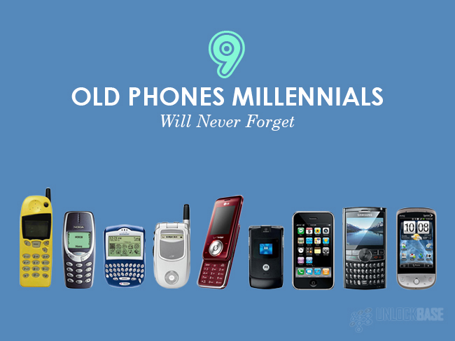 Most Popular Old Phone Models