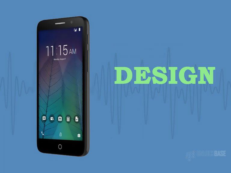 Alcatel TRU OT-5065N: Design