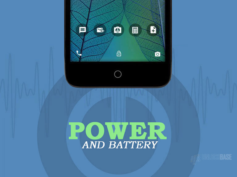 Alcatel TRU OT-5065N: Power and Battery