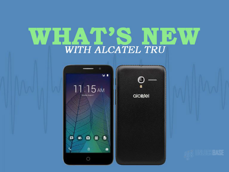 Alcatel TRU OT-5065N: What's New
