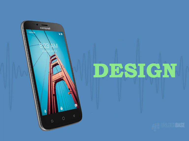 Coolpad Defiant: Design