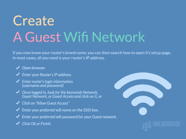 Create A Guest Wifi Network